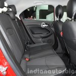 Fiat 500X Cross Plus rear cabin at the IAA 2015