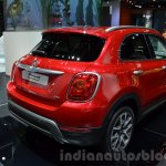 Fiat 500X Cross Plus rear three quarter at the IAA 2015