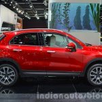 Fiat 500X Cross Plus side at the IAA 2015