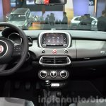 Fiat 500X Cross Plus yellow dashboard at the IAA 2015