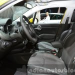 Fiat 500X Cross Plus yellow front cabin at the IAA 2015