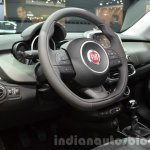 Fiat 500X Cross Plus yellow interior at the IAA 2015