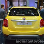 Fiat 500X Cross Plus yellow rear at the IAA 2015