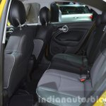 Fiat 500X Cross Plus yellow rear cabin at the IAA 2015