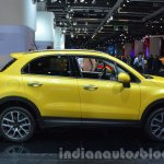 Fiat 500X Cross Plus yellow side at the IAA 2015