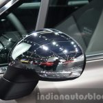 Fiat 500X Lounge chrome mirror caps at the IAA 2015