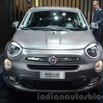 Fiat 500X Lounge front at the IAA 2015