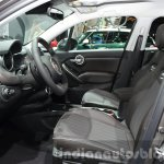 Fiat 500X Lounge front cabin at the IAA 2015