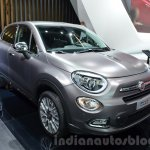 Fiat 500X Lounge front three quarter at the IAA 2015
