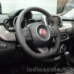 Fiat 500X Lounge interior at the IAA 2015