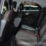 Fiat 500X Lounge rear cabin at the IAA 2015