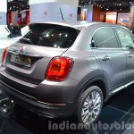 Fiat 500X Lounge rear three quarter at the IAA 2015