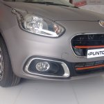 Fiat Punto Abarth (For India) spotted at the dealership