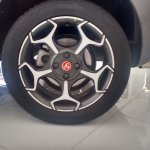 Fiat Punto Abarth wheel (For India) spotted at the dealership
