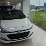 Front of the Hyundai Elite i20 Celebration Edition