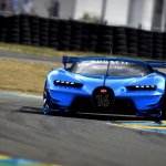Front view of the Bugatti Vision GT (official image)