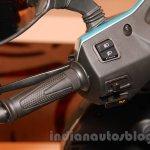 Hero Duet handlebar left unveiled India