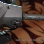 Hero Duet handlebar right unveiled India