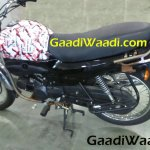 Hero HF Dawn 125 test mule spotted with minimum camouflage