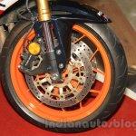 Honda CBR 600RR Repsol front wheel at Nepal Auto Show 2015