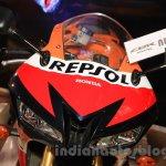 Honda CBR 600RR Repsol ram air intake at Nepal Auto Show 2015