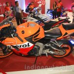 Honda CBR 600RR Repsol side left at Nepal Auto Show 2015
