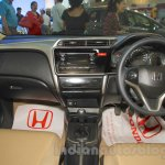 Honda Jazz dashboard at Nepal Auto Show 2015