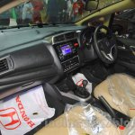 Honda Jazz dashboard black at Nepal Auto Show 2015