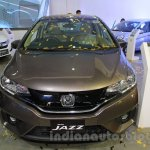 Honda Jazz front at Nepal Auto Show 2015