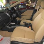 Honda Jazz front seats at Nepal Auto Show 2015