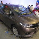 Honda Jazz front three quarter right at Nepal Auto Show 2015
