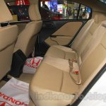 Honda Jazz rear seats legroom at Nepal Auto Show 2015