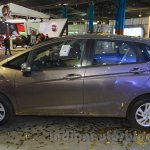 Honda Jazz side left at Nepal Auto Show 2015