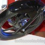 Honda Shine DSS alloy wheel at Nepal Auto Show 2015