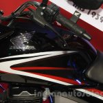 Honda Shine DSS fuel tank at Nepal Auto Show 2015