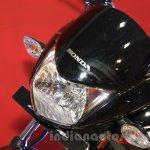 Honda Shine DSS headlamp at Nepal Auto Show 2015