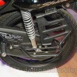 Honda Shine DSS saree guard at Nepal Auto Show 2015