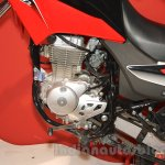 Honda XR 150L engine at Nepal Auto Show 2015