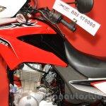 Honda XR 150L fuel tank at Nepal Auto Show 2015