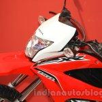 Honda XR 150L headlamp at Nepal Auto Show 2015