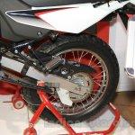 Honda XR 150L swingarm at Nepal Auto Show 2015