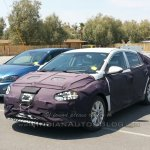 Hyundai AE (Toyota Prius rival) front spotted in Death Valley by IAB reader