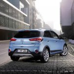 Hyundai i20 Active rear Euro spec