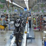 India Yamaha Motors Chennai plant inside official