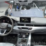 India-bound 2016 Audi A4 dashboard at the IAA 2015