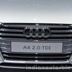 India-bound 2016 Audi A4 grille at the IAA 2015