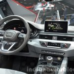 India-bound 2016 Audi A4 interior at the IAA 2015
