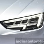 India-bound 2016 Audi A4 matrix headlamps at the IAA 2015