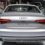 India-bound 2016 Audi A4 rear at the IAA 2015
