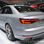 India-bound 2016 Audi A4 rear quarter at the IAA 2015